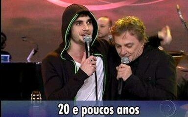 Fábio Jr e Fiuk cantam 20 e Poucos Anos