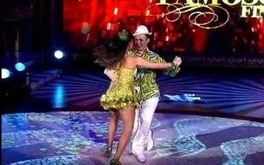 Miguel Roncato capricha na coreografia da final do Dança dos Famosos 2011