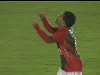 O gol de Portuguesa 1 x 0 São Paulo pela 6ª rodada do Campeonato Brasileiro