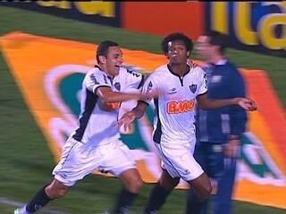 O gol de Grêmio 0 x 1 Atlético-MG pela 7ª rodada do Brasileirão 2012