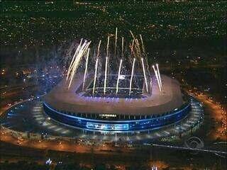 Relembre como foi a festa de inauguração da Arena do Grêmio em 2012