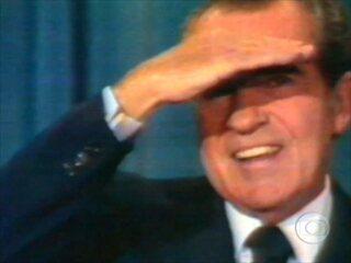 Watergate e Renúncia de Nixon (1974)