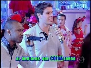 Você Viu? Thiaguinho canta 'Ousadia e Alegria' com Bruninho no Esquenta!