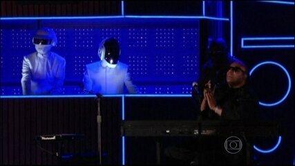 Daft Punk é o grande vencedor do Grammy 2014