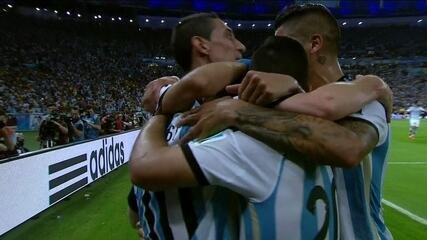 O gol de Messi em Argentina 2 x 1 Bósnia pela Copa do Mundo de 2014