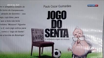 """Paulo Cézar Guimarães lança o livro """"Jogo do Senta"""", a verdadeira origem do """"chororô"""""""