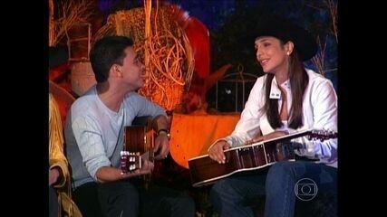 Ivete Sangalo canta É o Amor no especial Amigos & Amigos