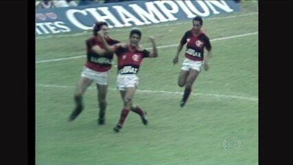 Baú do Esporte relembra confronto entre Flamengo e Atlético-MG pela Copa União de 1987