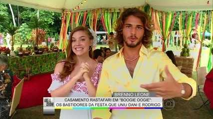 Garoto Boogie Oogie, Brenno Leone mostra bastidores do casamento rastafári