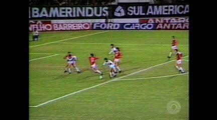 Relembre a semifinal da Libertadores entre Inter e Olímpia pela Libertadores de 1989