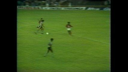 Em 1980, Botafogo-PB surpreende Flamengo no Maracanã