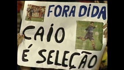 Conheça a história de quando Caio Ribeiro foi goleiro do Flamengo