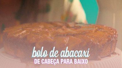 Aprenda a fazer bolo de abacaxi com massa fofinha e calda com uísque