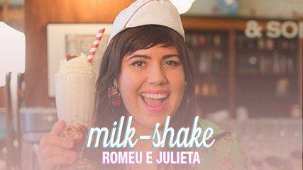 O sorvete caseiro de baunilha dá um sabor a parte a esta receita de milkshake