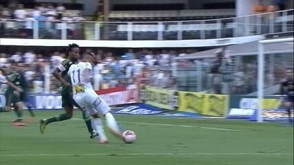 Segundo jogo: Santos 2 (4) x (2) 1 Palmeiras