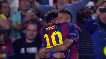 Reveja a pintura de Messi sobre o Bayern com direito a Boateng no chão e toque de cobertura com a direita