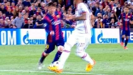 Messi brilha, faz gol antológico e Barcelona derrota o Bayern de Munique na Liga