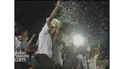 ABC 100 anos: Relembre a goleada alvinegra na final do estadual de 2007 sobre o América-RN