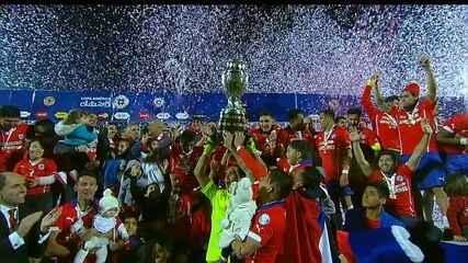 Chile vence a Argentina e leva o título da Copa América