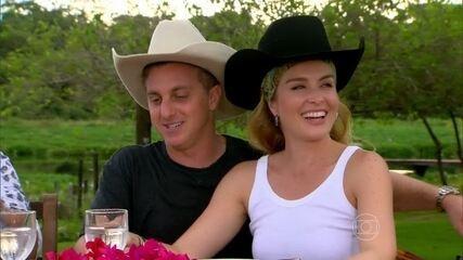 Que amor! Luciano Huck faz surpresa para Angélica e chega ao Pantanal