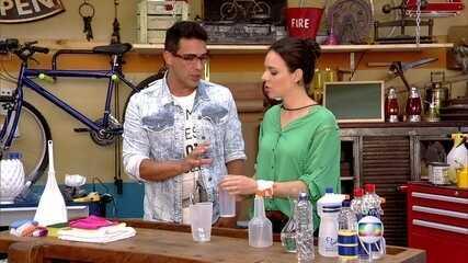 Aprenda a fazer produto de limpeza caseiro