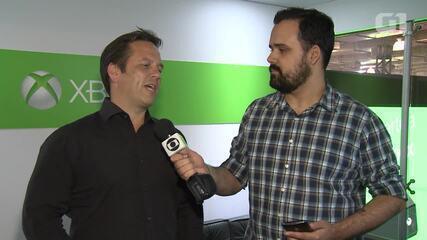 Phil Spencer participou da BGS 2015, quando falou da importância do Brasil para a divisão Xbox