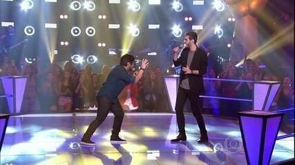Relembre a batalha entre Renato Vianna e Marcelo Archetti, cantando 'I´m Not The Only One'