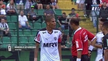 Árbitro explica decisão de anular a expulsão de Leo Silva