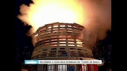 Relembre a cena de explosão do shopping de Torre de Babel