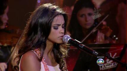Assista à apresentação de Lucy Alves cantando o sucesso 'Disparada' no The Voice Brasil