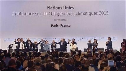 Novo acordo sobre o clima é aceito pelos 195 países na COP 21