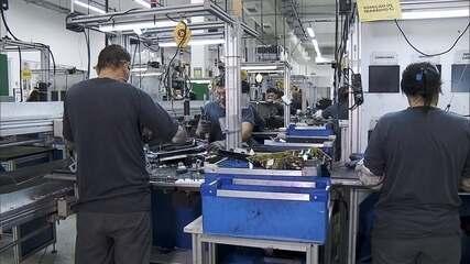 A queda na produção da indústria brasileira