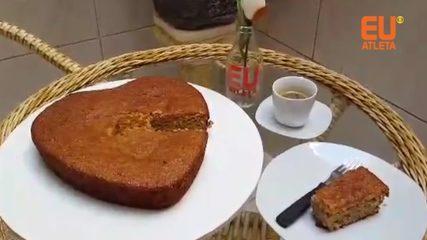 Receita bolo de banana fit