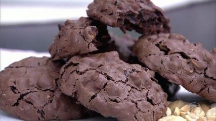 Cookie de Amendoim sem farinha de trigo