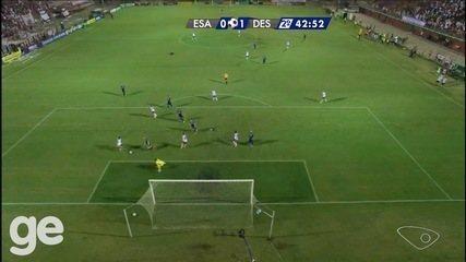 Os melhores momentos de Espírito Santo 0 x 1 Desportiva, pelo Campeonato Capixaba 2016