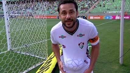 O gol de América-MG 0 x 1 Fluminense pela 1ª rodada do Brasileirão 2016
