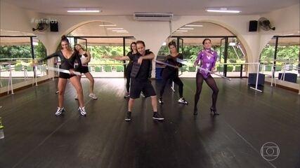 Juliana Paes, Deborah Secco e Maria Joana fazem coreografia de Beyoncé em 20 minutos