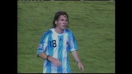 Em 2008, Brasil e Argentina empataram sem gols no Mineirão, pelas Eliminatórias