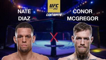 UFC 202 - Nate Diaz x Conor McGregor