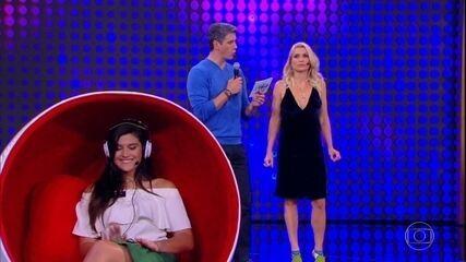 Flávia Alessandra e Giulia Costa testam afinidade no 'Te Conheço?'