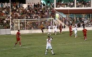 Os gols de Real Noroeste 0 x 2 Ipatinga pela Copa do Brasil 2012