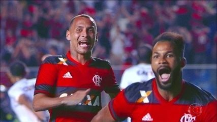 Flamengo vence Figueirense e avança na Copa Sul-Americana