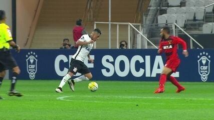 Melhores momentos de Corinthians 3 x 0 Sport pela 2ª rodada do Campeonato Brasileiro