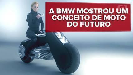 BMW mostra conceito de moto que não cai nunca