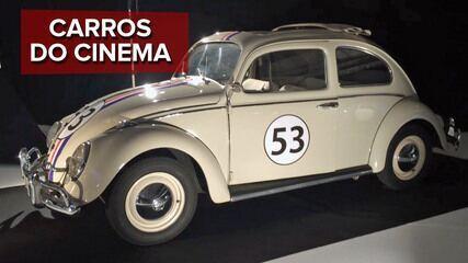 G1 mostra os carros do cinema que estão no Salão de Paris
