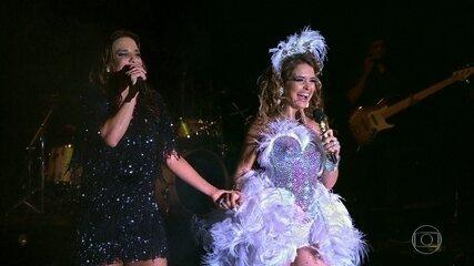 Chayene arrasa no palco com Ivete Sangalo