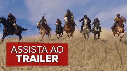 'Red Dead Redemption 2' ganha primeiro trailer