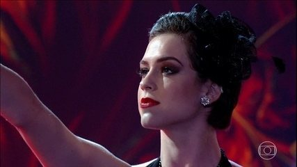 Sophia Abrahão arrasa em dia de foxtrote no 'Dança dos Famosos'