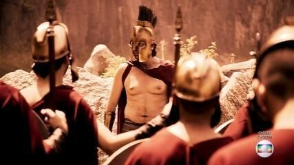 Exército espartano fashion