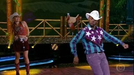 Nego do Borel arrasa no country em sua apresentação no 'Dança dos Famosos'